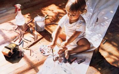 4 проверенных и удобных способа рисовать с малышом