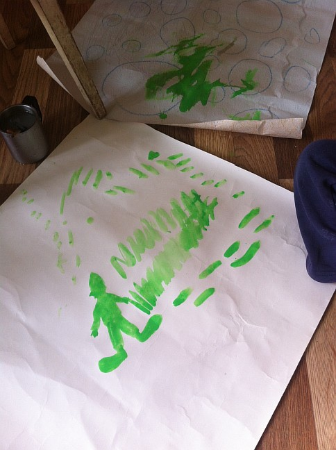 Зеленый человечек :)