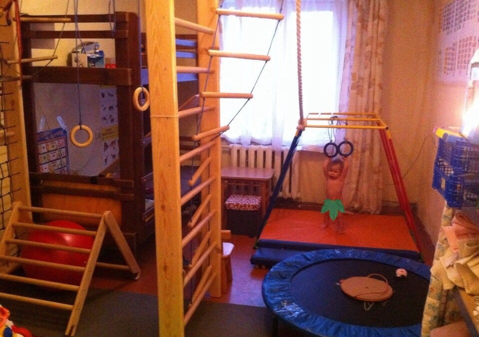 Идеальный спортивный комплекс для ребенка от 3х лет