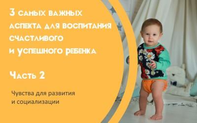 3 самых важных аспекта для воспитания счастливого и успешного ребенка Часть 2. Чувства для развития и социализации